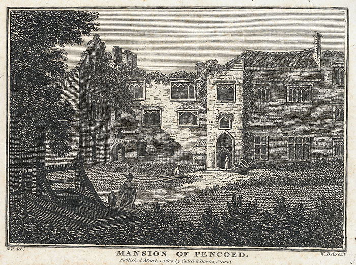 Mansion of Pencoed Hoare, Richard Colt, 1758-1838